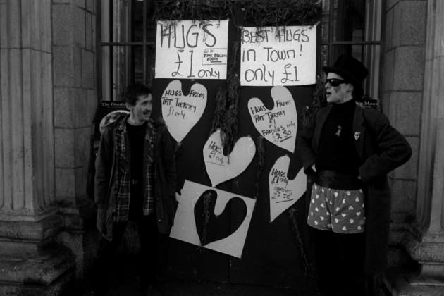 Pic 7 pat tierney hugs fundraiser gpo