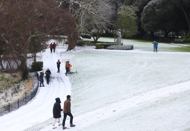 Snow in Dublin 006
