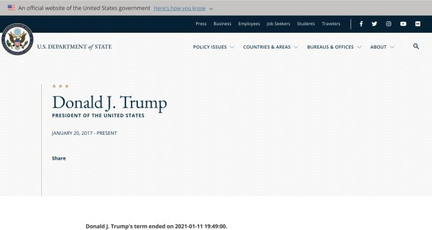 Trump term