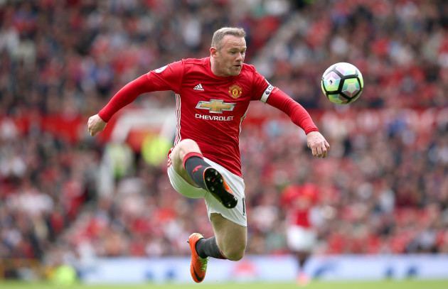 Rooney spent a memorable spell at United.  Source Martin Rickett