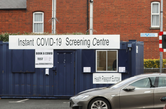 Covid screening centre 006