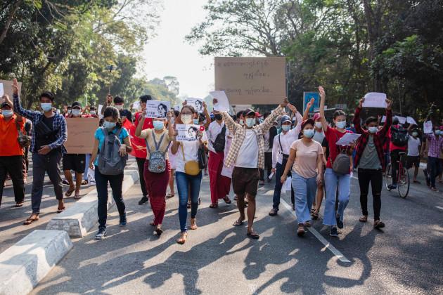 demonstration-against-the-military-coup-in-yangon-myanmar-07-feb-2021