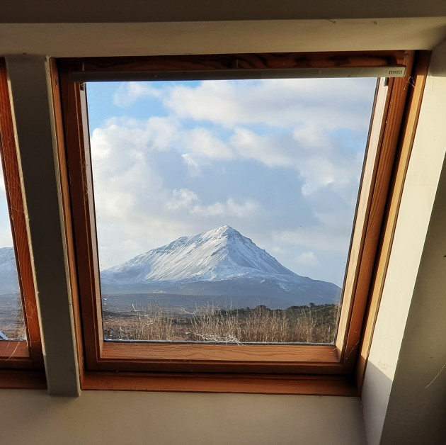 Errigal from house