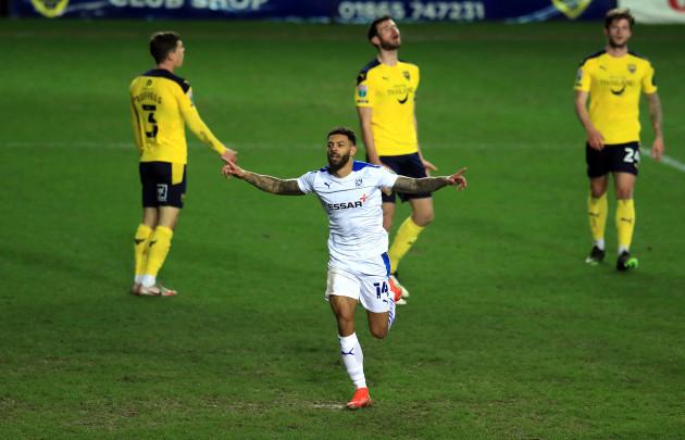 oxford-united-v-tranmere-rovers-papa-johns-trophy-semi-final-kassam-stadium