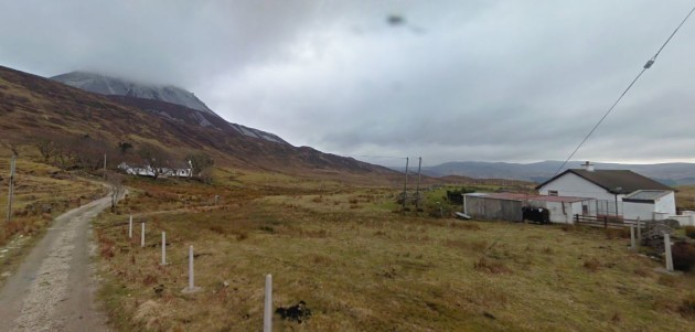 Mt Errigal Google Maps 2