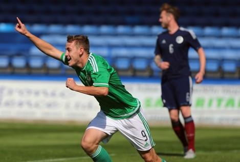 soccer-uefa-euro-under-21-championships-qualifying-group-three-northern-ireland-v-scotland-mourneview-park