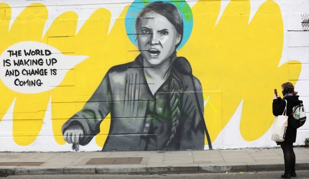 0254 Greta Thunberg Mural