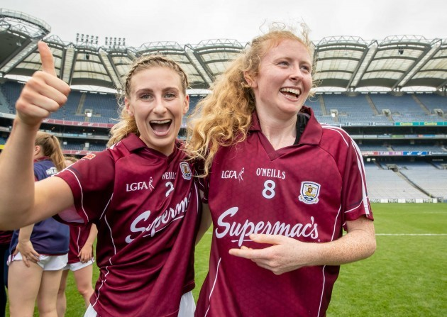 sinead-burke-and-louise-ward-celebrate-the-final-whistle