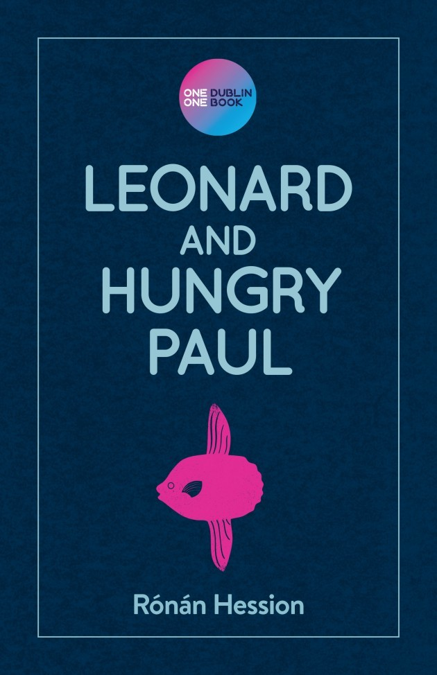 Leonard and Hungry Paul cover with sticker