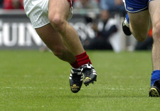 a-view-of-the-feet-of-cork-hurler-niall-mccarthy