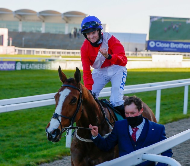 rachael-blackmore-on-sir-gerhard-celebrates-after-winning