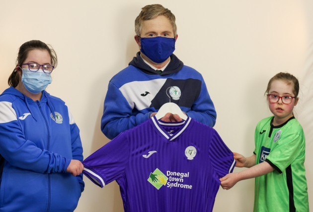 Finn Harps x Donegal Down Syndrome Third Jersey 1