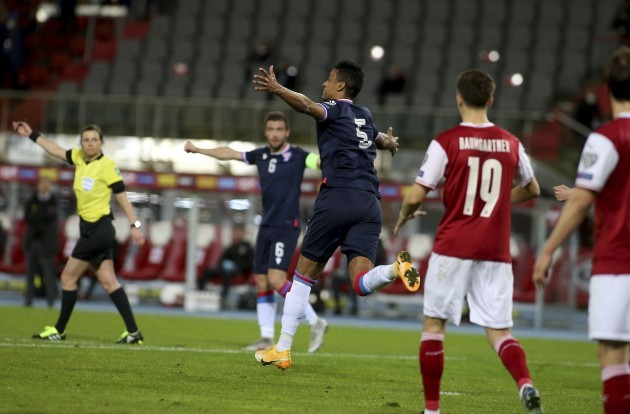 austria-faroe-islands-wcup-2022-soccer