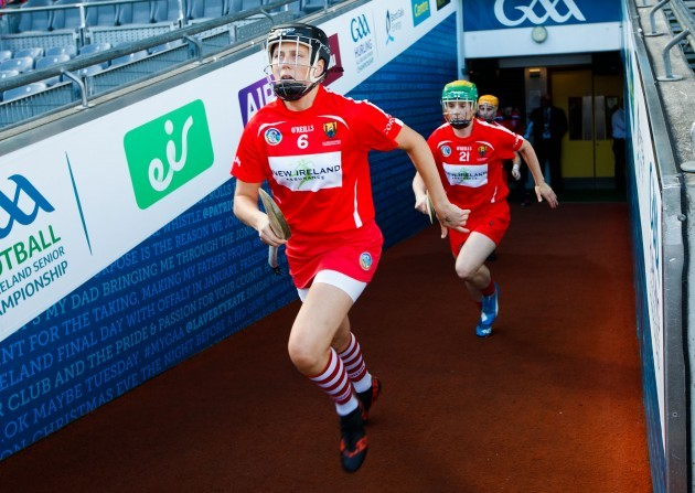 gemma-oconnor-and-briege-corkery-take-to-the-field