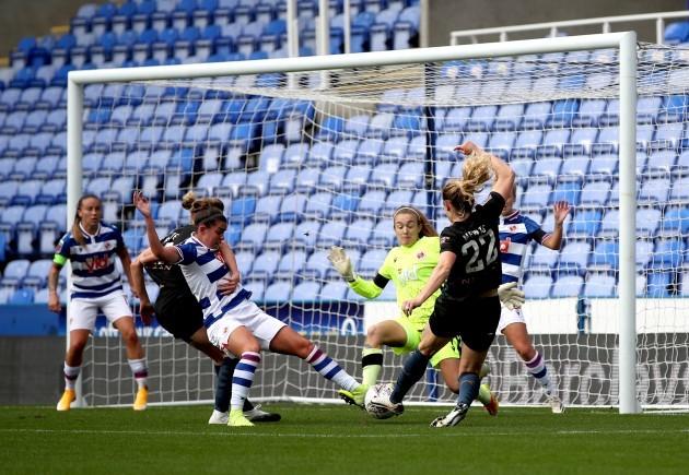 reading-v-manchester-city-fa-womens-super-league-madejski-stadium