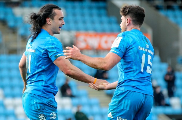 james-lowe-celebrates-after-scoring-a-try-with-hugo-keenan