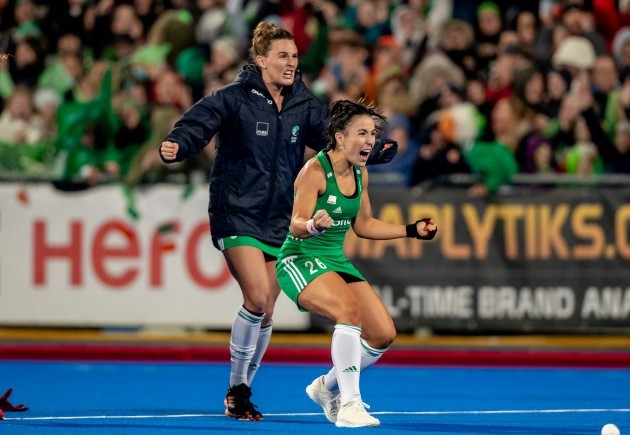 nicola-evans-and-anna-oflanagan-celebrate-the-moment-they-qualified-for-the-2020-tokyo-olympics