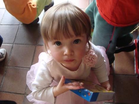 Clarissa 25 months old