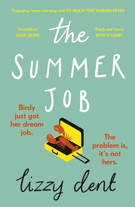 The Summer Job Lizzy Dent High Res Cover