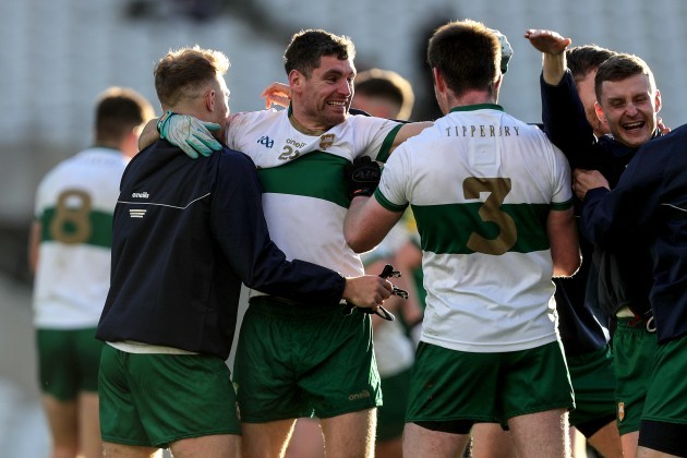 philip-austin-and-jimmy-feehan-celebrate-at-the-final-whistle