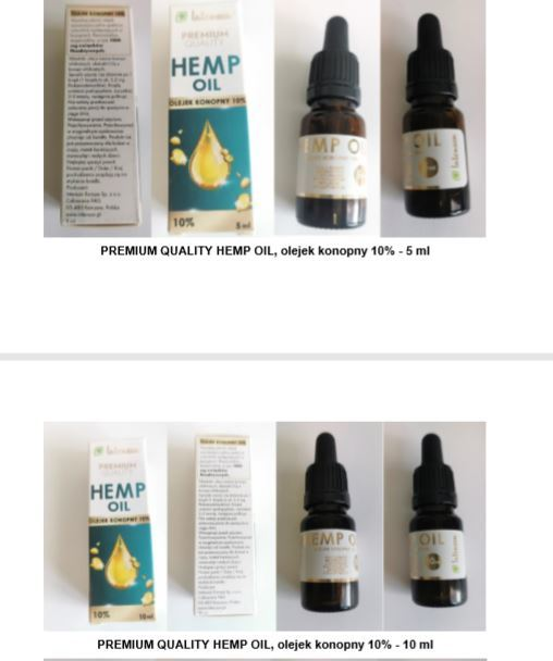 Premium Quality Hemp Oil
