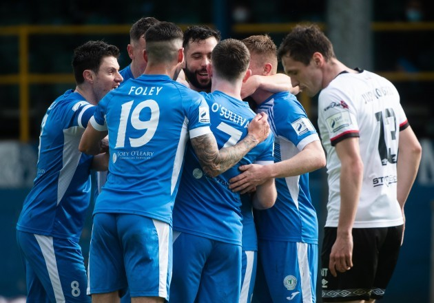 barry-mcnamee-celebrates-scoring-a-goal-with-teammates