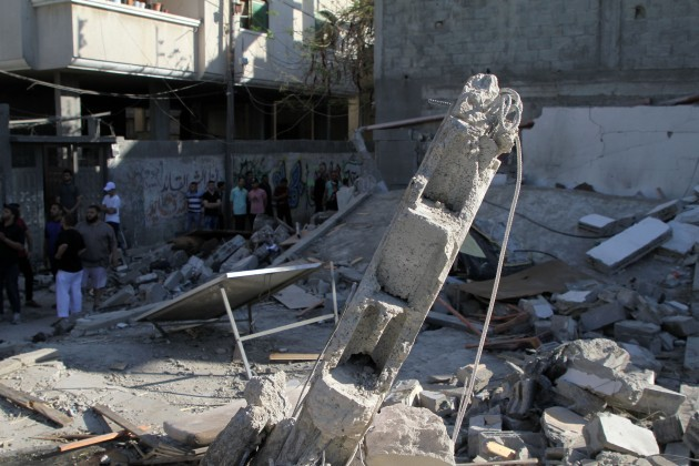 mideast-gaza-israel-airstrikes