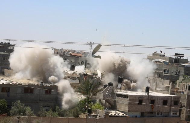 mideast-gaza-rafah-israel-airstrikes