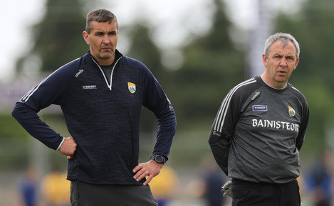 maurice-fitzgerald-and-peter-keane-before-the-game