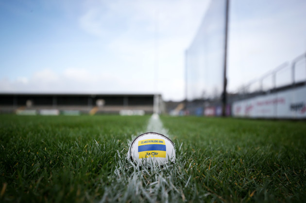 a-general-view-of-a-sliotar-ahead-of-the-game