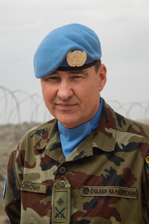 Lieutanant Colonel Fred O'Donovan