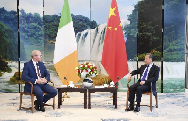 china-guizhou-wang-yi-irish-fm-talks-cn
