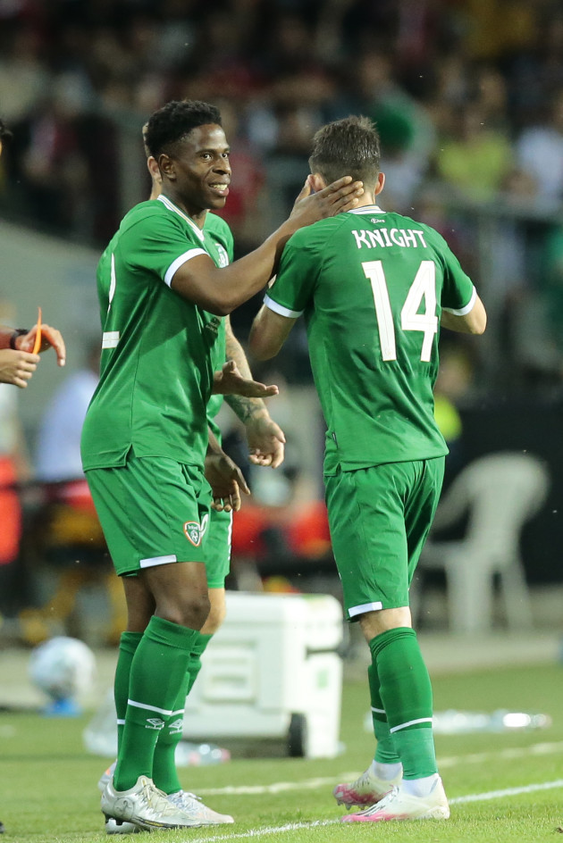 chiedozie-ogbene-is-substituted-on-for-jason-knight-to-make-his-international-debut