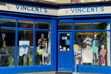 St Vincent de Paul shop