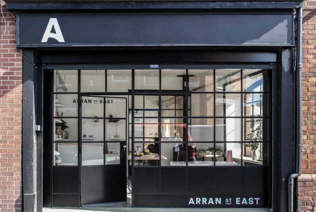 Arran Street East shopfront