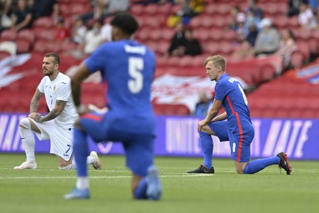england-romania-soccer
