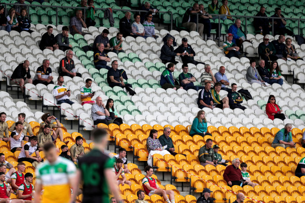 a-general-view-of-fans-watching-the-game