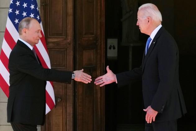 Putin and Biden meet