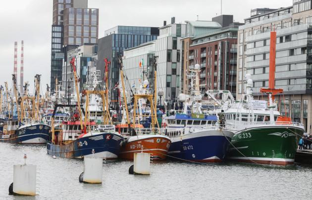 Fishermans protest 001