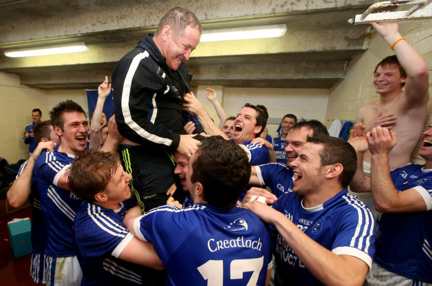 colm-collins-celebrates-with-his-team-after-the-game