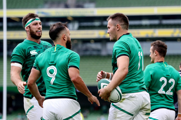 caelan-doris-and-jamison-gibson-park-celebrate-with-jacob-stockdale-after-he-scores-a-try