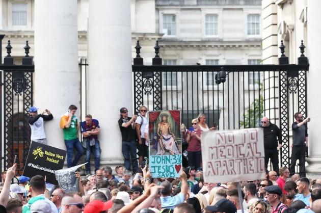 260 Anti covid passport protest copy