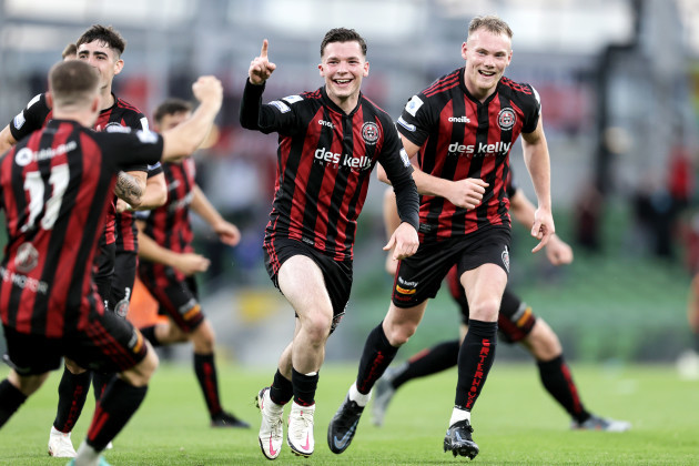 ali-coote-celebrates-scoring-his-second-goal-with-ciaran-kelly