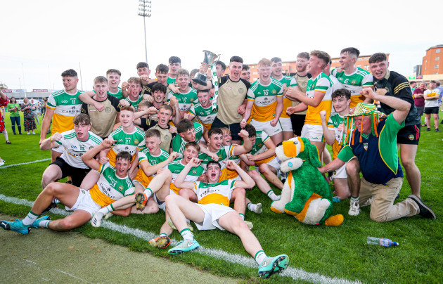 the-offaly-team-celebrate-as-under-20-leinster-champions