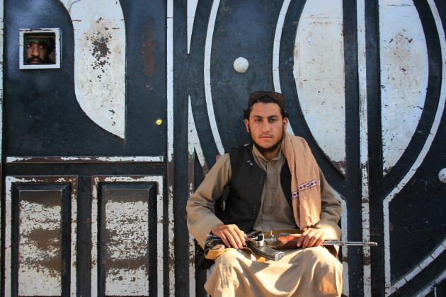 Taliban militant in the Herat province Credit: STR/Xinhua News Agency/PA Images