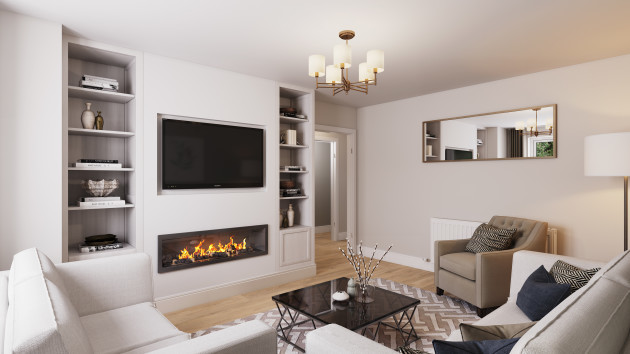 3 Bed Living Room