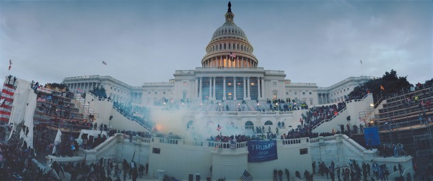 january-6th-2021-dc-capitol-riot-last-minutes-of-standoff-police-heavily-using-tear-gas-pushing-protesters-out-of-us-capitol-building-usa