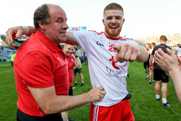 feargal-logan-celebrates-after-the-game-with-cathal-mcshane