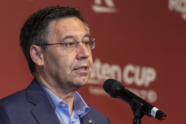tokyo-japan-21st-july-2019-josep-maria-bartomeu-president-of-fc-barcelona-speaks-during-a-reception-party-for-the-rakuten-cup-at-ana-intercontinental-tokyo-european-soccer-teams-fc-barcelona-and