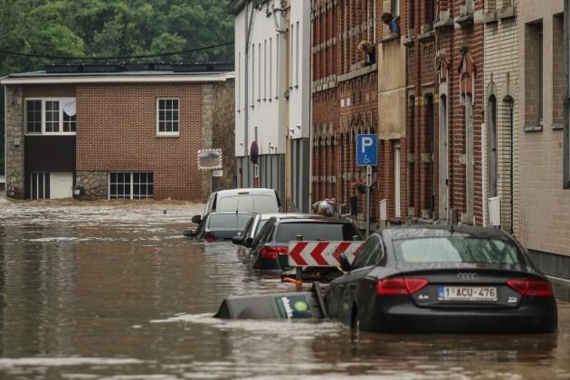 Piano provinciale per i disastri annunciato durante le inondazioni a Liegi dopo forti piogge - Giovedì - 15 - 2021 Le province di Liegi-Lussemburgo e Namur dopo una grande mattinata
